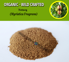 POWDER Nutmeg Pala Myristica Fragrans Organic Wild Crafted Fresh Natural... - $8.25+
