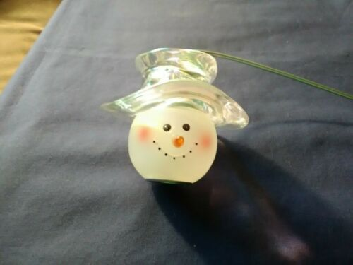 Home Interiors And Gifts, Snowman Candle Snuffer