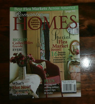Romantic Homes Magazine August 2011 Special Flea Market Issue - $6.89