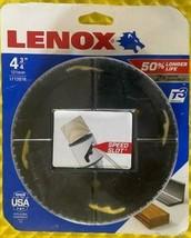 "LENOX 1772076 T3 Hole Saw 4 3/4"" Bi Metal Speed Slot USA - $25.74"