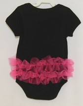 Doomagic Black One Piece Pink Tutu Red Heart Crown Wings Size 12 to 24 Months image 2