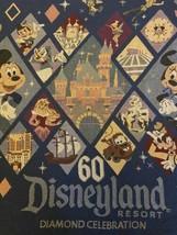 Disneyland Resort 60 Diamond Anniversary Blanket Throw Mickey Buzz Castl... - $39.99
