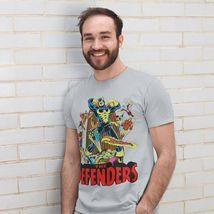 The Defenders T-shirt retro vintage Marvel comics cotton graphic tee image 3