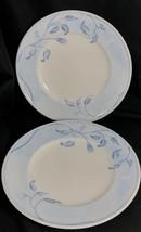 "Set of 2 Lenox SWEDISH ROSE Accent Luncheon Plate 9.5"" Rope Edge Swedish... - $64.34"
