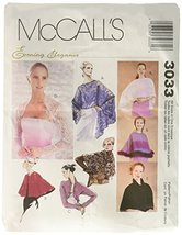 McCall's Patterns M3033 Misses' Evening Cover-Ups, All Sizes - $14.21