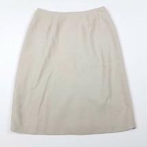 Le Suit Lisbon Textured Pencil Skirt Dark Beige