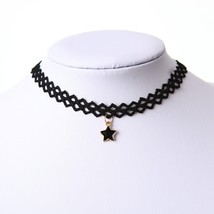 2019 Charm Fashion Style Choker Necklace Black Lace Strip for Party Jewe... - $7.83