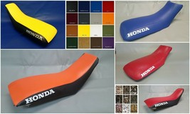 HONDA TRX300EX Seat Cover in 25 Colors or any 2-tone combination   (HONDA SIDES) - $44.95