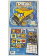 NEW SEALED 2021 Tonka Tough 16 Month Wall Calendar - $9.49