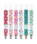 Babygoal Pacifier Clips, 6 Pack Pacifier Holder for Boys and Girls Fits ... - $8.57