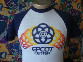 Vintage 80's Epcot Center 1982 Walt Disney T Shirt S  - $43.56