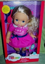 """Fisher Price Little Mommy Sweet As Me 13"""" Doll in Dress New - $22.50"""