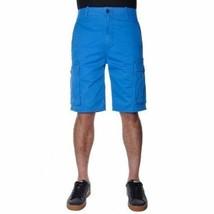 NEW LEVI'S MEN PREMIUM COTTON ORIGINAL RELAXED FIT CARGO SHORTS BLUE 124630175 image 2