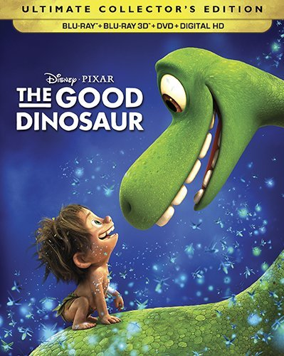 The Good Dinosaur [3D + DVD + Blu-ray + Digital] (2016)