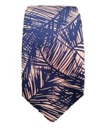 TIGER OF SWEDEN Made in Italy Neckwear TIE Blue / Pink SILK - FREE SHIPPING - $73.61