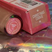 NIB Jeffree Star Velour Liquid Lip VLL Christmas Cookie Full Size PERFECT NUDE image 3