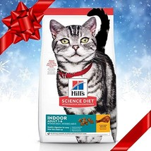 Hill's Science Diet Dry Cat Food, Adult, Indoor, Chicken Recipe 3.5 lb Bag