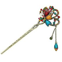 Retro Diamond Butterfly Pin Hair Accessories Hairpin Jewelry