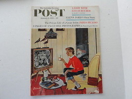 Saturday Evening Post Magazine Back Issue January 4 1958 Complete - $3.49