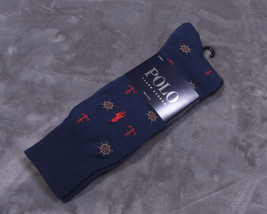 Polo Ralph Lauren Mens Socks 2 Pair Sock Size 10-13 Nwt New - $24.07
