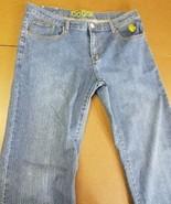 COOGI WOMEN'S BLUE JEAN PANTS BOOTCUT SZ 19/20 COTTON POLYESTER 39 X 33 ... - $29.39