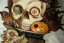 Bethany Lowe Skeleton Steampunk Halloween Treat Candy Container image 3