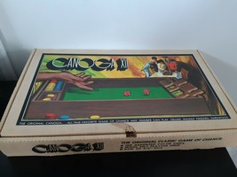 Vintage 70's Canoga XII Game Classic Game Of Chance 98% Complete Missing... - $22.72
