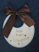 Shh! Baby Sleeping wall / door hanging - $4.90