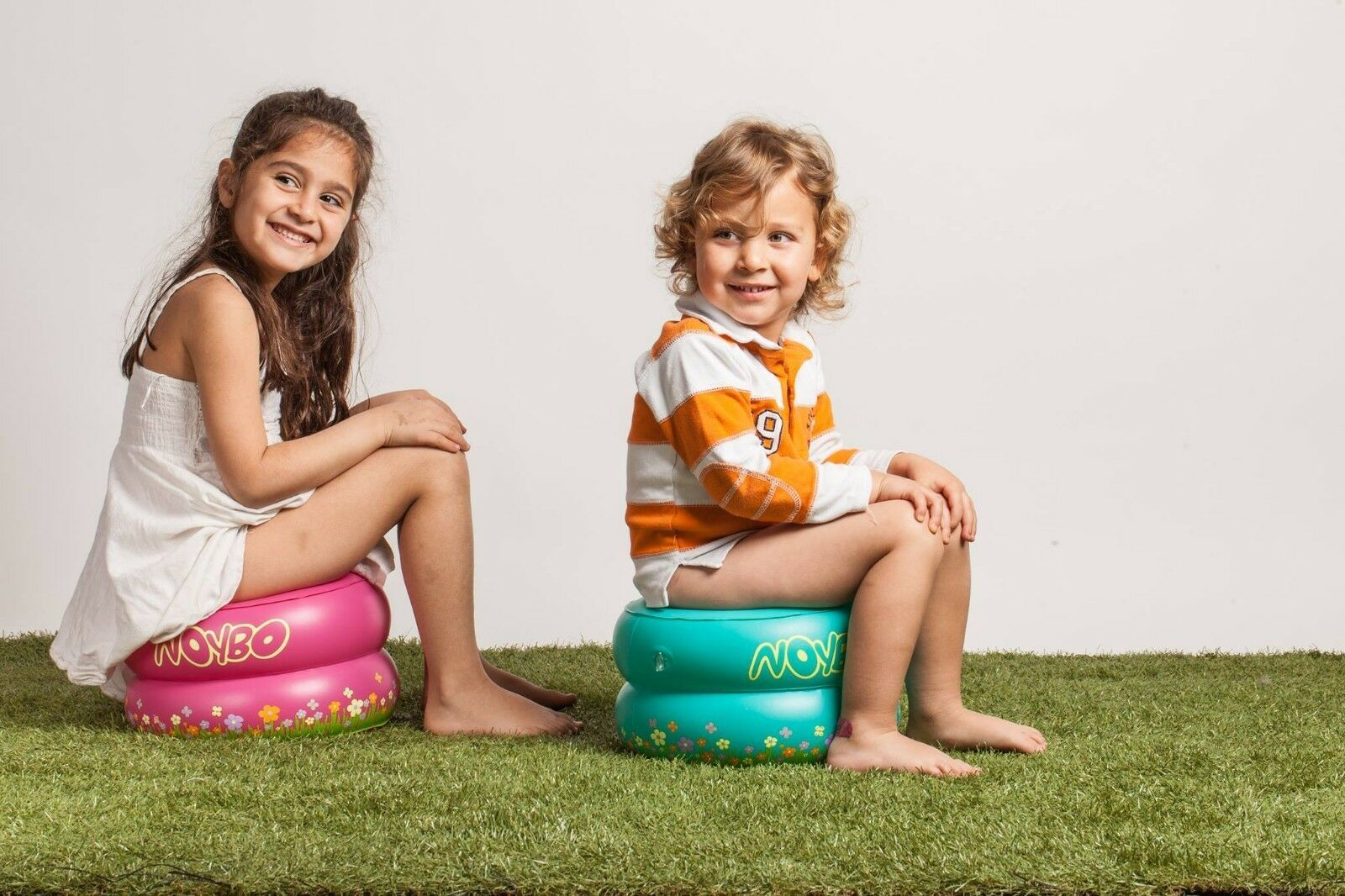 Potty Training Toilet Seat Baby Portable Inflatable Toddler Kids Camping Outdoor