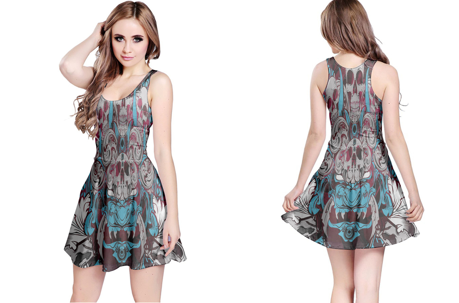 Primary image for Tatoo Collection #2 Women's Reversible Dress