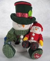 "2004 Avon Snowman Surprise Musical Christmas Display 11"" - $39.55"