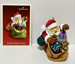 2005 Hallmark Keepsake Santa's Magic Sack Christmas Ornament Repaint QXG... - $30.00