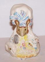 "Adorable Royal Albert England Lady Mouse Beatrix Potter 4"" Figurine - $27.31"