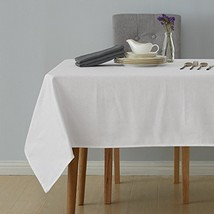 Deconovo Decorative Jacquard Tablecloth with Diamond Patterns Oblong Wri... - $21.65