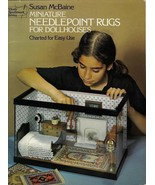Miniature Needlepoint Rugs for Dollhouses Pattern Book by Susan McBaine ... - $11.99