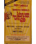 PATTI LABELLE - YOUR ARMS TO SHORT TO BOX WITH GOD - SF - $20.00