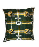 Packers Pillow NFL Pillow Green Bay Packers Pillow Football Pillow HANDM... - $11.96