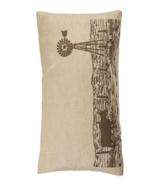Cowgirl Kim Windmill Burlap Pillow - $45.00