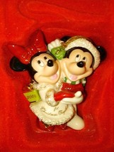 Lenox Disney Annual 2004 Mickey And Minnie First Christmas Together Ornament - $24.75