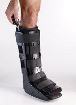 Corflex Tri Shell Pneumatic Walker-L-Ankle - Black - $92.99