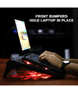 ENHANCE Gaming Laptop Cooling Pad Stand with LED Cooler Fans - $24.99