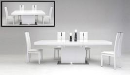 VIG Modrest Zenith - Modern White Extendable Dining Table Contemporary