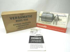 Vintage Versamatic Model 4100 Reversible Speed Reducer for Portable Dril... - $27.71