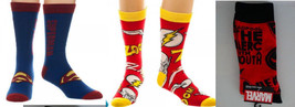 Deadpool, Superman Marvel Dc Comics Crew Socks Your Choice - $4.99