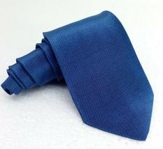 "NEW Men's tie classic 3"" blue  ITALY silk business wedding JCC brand nec... - $26.00"