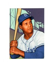 POSTCARD-  ROY CAMPANELLA- BASEBALL SLUGGERS - FIRST DAY ISSUE  BK10 - $2.94