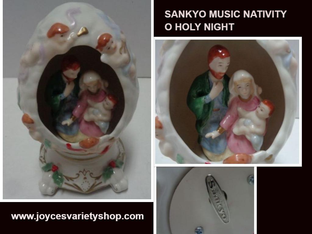 Sankyo nativity egg web collage
