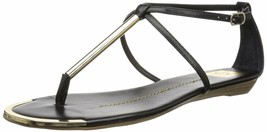 DV by Dolce Vita Women's Archer Thong Sandal 12 Black Stella - £24.14 GBP