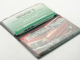 2001 Dodge Ram Van & Wagon Owners Manual User Guide Operator Book (T87) - $22.76