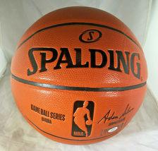 JOEL EMBIID / PHILADELPHIA 76ERS / AUTOGRAPHED FULL SIZE NBA BASKETBALL / COA image 4